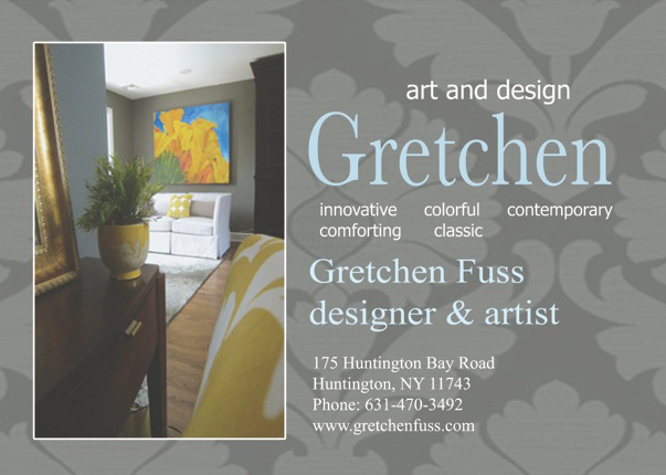 Combining my Artwork with Design and Decor! : Gretchen ...