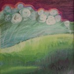 Cotton Pickin Sky 20x16